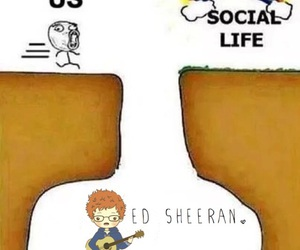 social life and ed sheeran image