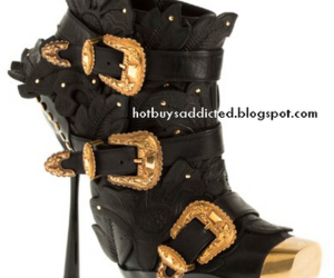 Alexander McQueen and ankle boots image