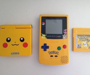 game, pikachu, and pokemon image