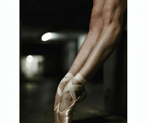 ballerina, beautiful, and legs image
