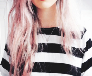 pink and hair color image