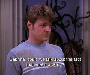 broken, perfect couple, and sabrina the teenage witch image