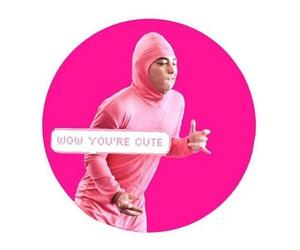 pink guy, filthy frank, and papa franku image