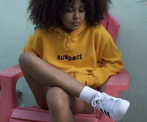yellow, adidas, and aesthetic image
