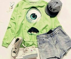 chic, green, and cool image