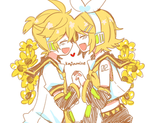 vocaloid and rin kagamine image