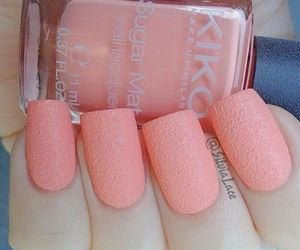manicure, pink, and nail art image