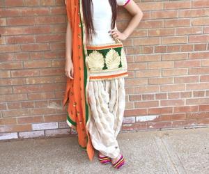 glamorous, pakistani, and punjabi suit image