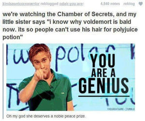 harry potter, voldemort, and genius image