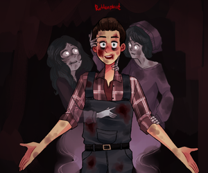 crazy, josh, and until dawn image