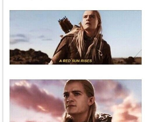 funny, lord of the rings, and period image