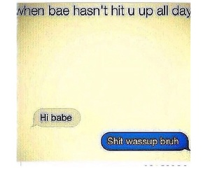 Relationship and text image