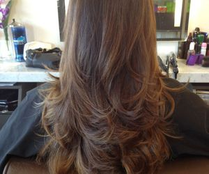 ombre hair, hairstyles 2015, and remy hair extensions image