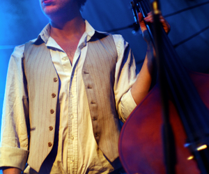 bass, folk, and mumford and sons image