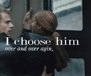 four, divergent, and choose image