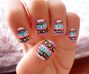 fashion, nail art, and pretty image
