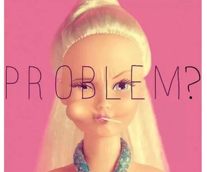 barbie, problem, and pink image