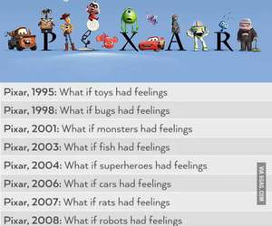 disney, pixar, and funny image