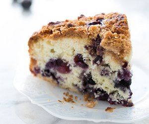 blueberry, cake, and buckle image
