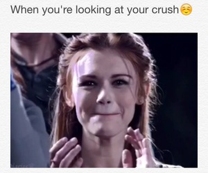 crush, face, and OMG image