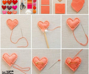 decorations, heart, and hearts image