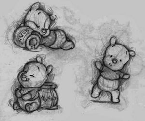 drawing and winnie+the+pooh image