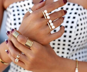 rings and gold image