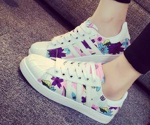 shoe, white, and fashion image