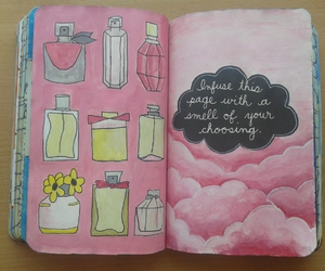 pink, smell, and wreck this journal image