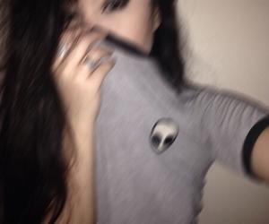 girl, grunge, and alien image