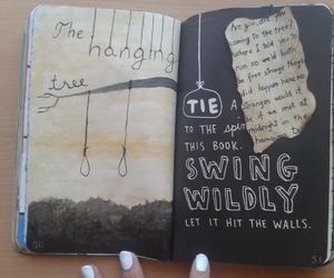 wreck this journal, hunger games, and mockingjay image