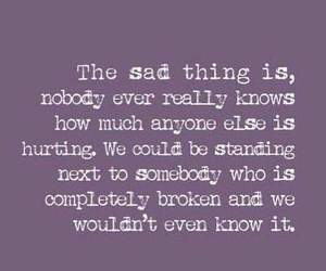 broken, life, and quotes image
