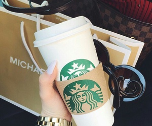 starbucks, coffee, and theme image
