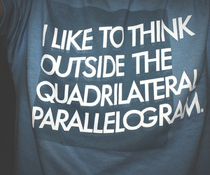 shirt and parallelogram image