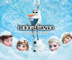 frozen, disney, and adore image