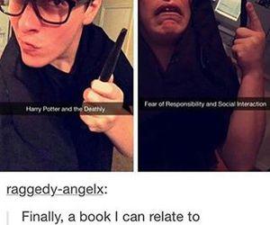 books, lol, and puns image