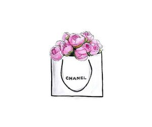 chanel, flowers, and tunblr image