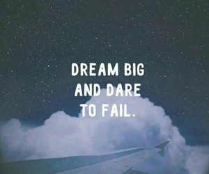 dare, fail, and inspiration image
