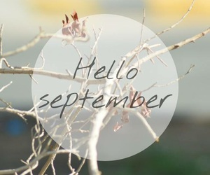 hello and September image