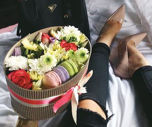 fashion, flowers, and heels image