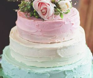 pastel, wedding cake, and cake image