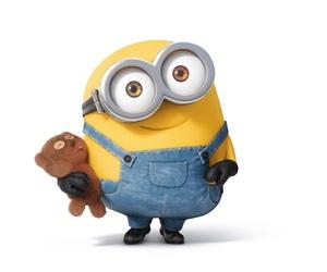 minions, bob, and yellow image