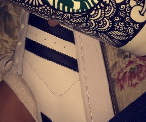 adidas, starbucks, and superstars image
