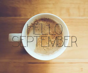 September, autumn, and coffee image