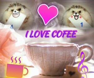 best picture ever, coffee, and i love coffee image