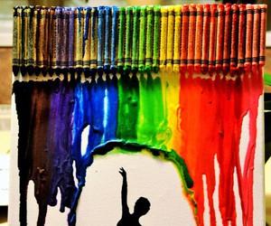 art, ballerina, and drawing image