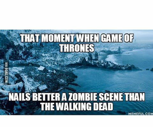 funny, got, and the walking dead image