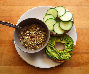 cucumber, food, and healthy image