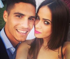 beautiful, couple, and pieros image