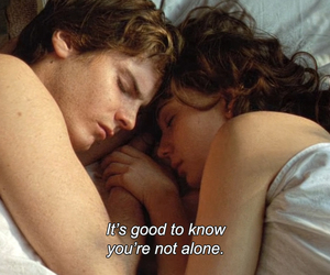 film, quotes, and couple image